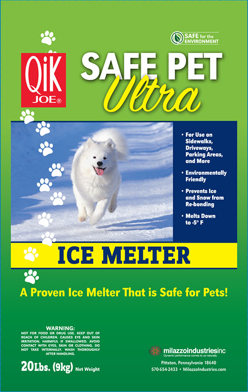 Front of Safe Pet Ultra Ice Melt Bag
